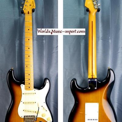 VENDUE... FENDER Stratocaster ST'57-US 2TS 1989 'STD57 Domestic' japon import *OCCASION*