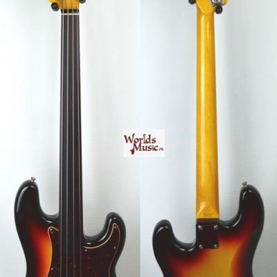 VENDUE... FENDER Precision Bass fretless PB'62 FL 2005 japon *OCCASION*
