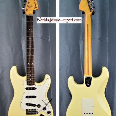 VENDUE... Fender Stratocaster CST'72 'collector Strato' 1985 White *post JV* japan import *OCCASION*