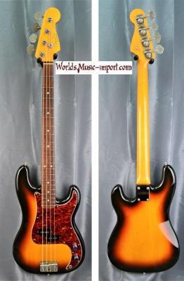 FENDER Precision Bass PB'62 RI 3TS 1991 japon import *OCCASION*