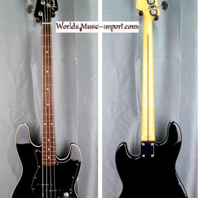 VENDUE... FENDER Jazz Bass Aerodyne AJB-Deluxe Black 2010 japon import *OCCASION*