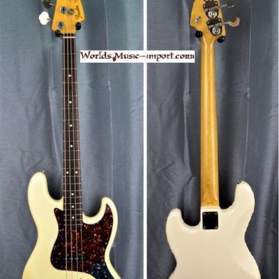 FENDER Jazz Bass JB'62 WHITE 1984 'JV ' japan import *OCCASION*