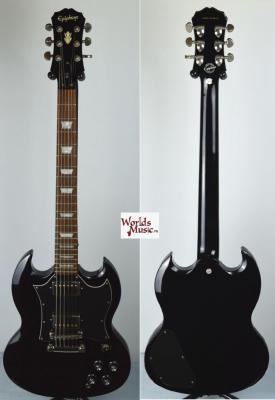 VENDUE... EPIPHONE SG 400 black '1966' custom shop 2009 *OCCASION*