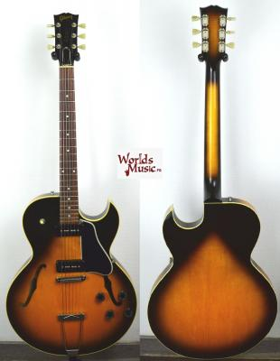VENDUE... GIBSON ES-135 Sunburst 1998 USA P-100 Import *OCCASION*