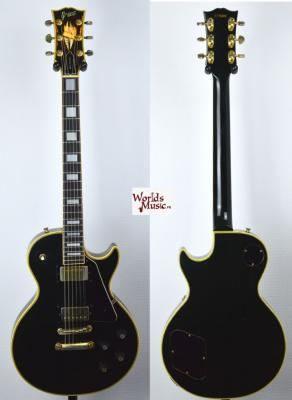 VENDUE... GRECO Les Paul Custom Black 1977 Japon Import *OCCASION*