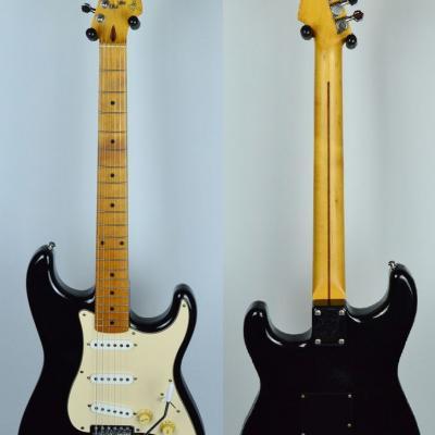 VENDUE... FENDER Stratocaster STD Black 1985 Post JV JAPON *OCCASION*