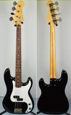 VENDUE.... FENDER Precision bass black 2004 import japon *OCCASION*