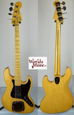 VENDUE... FENDER Jazz Bass 75'US Naturelle 2007 JAPON *OCCASION*