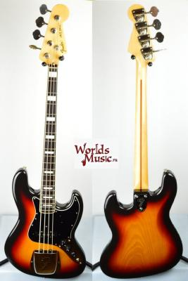 VENDUE... FENDER Jazz Bass 75' US 3TS 2004 JAPON Import  *OCCASION*
