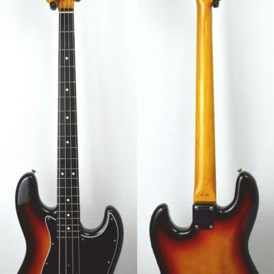 VENDUE... FENDER Jazz Bass 62' SB vintage 1987 Japon Import *OCCASION*