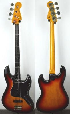 VENDUE... FENDER Jazz Bass 62' SB vintage 1987 Japon Import *OCCASION*