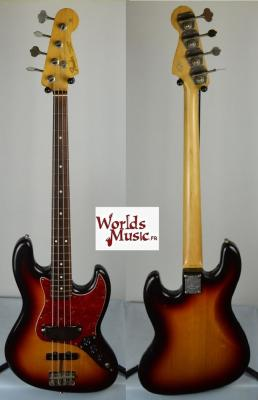 VENDUE... FENDER Jazz Bass 62 US 30th VSP 3TS RARE Japon 1992  *OCCASION*