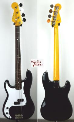 VENDUE... FENDER Precision BASS PB'62 LH BLACK 1999 japon *OCCASION*