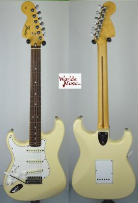 VENDUE... FENDER Stratocaster 72'LH WH Gaucher 2002 JAPON *OCCASION*