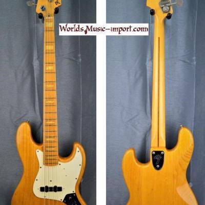 VENDUE... Fender Jazz Bass JB'75-75M ASH 1990 ASH natural gloss 'Nitro' japan import *OCCASION*