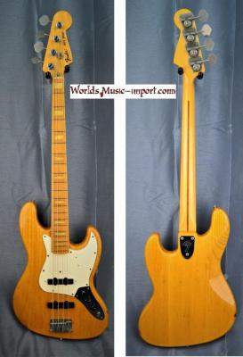 Fender Jazz Bass JB'75-75M ASH 1990 ASH natural gloss 'Nitro' japan import *OCCASION*