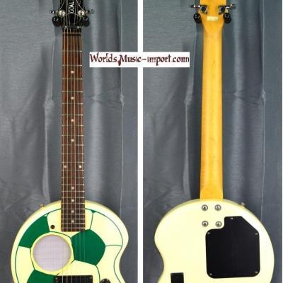 VENDUE... ARIA Mini Guitare SCG-200 GOAL Ballon Green 2002 import *OCCASION*