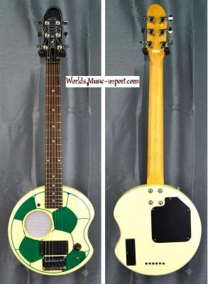 RESERVE... ARIA Mini Guitare SCG-200 GOAL Ballon Green 2002 import *OCCASION*
