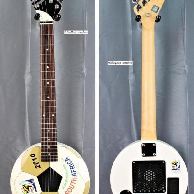 ARIA Mini guitare FIFA World Cup 2010 Africa 2010 White import Japon *OCCASION*