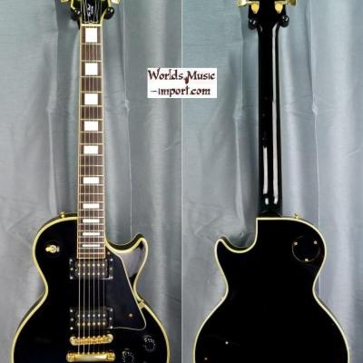 Orville by GIBSON Les Paul Custom Black 1990 Japon import *OCCASION*