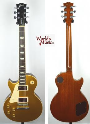 VENDUE... GIBSON Les Paul Standard LH Goldtop 1998 'GAUCHER' RARE US import *OCCASION*