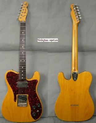 VENDUE... FENDER Telecaster TC-72 ASH Custom