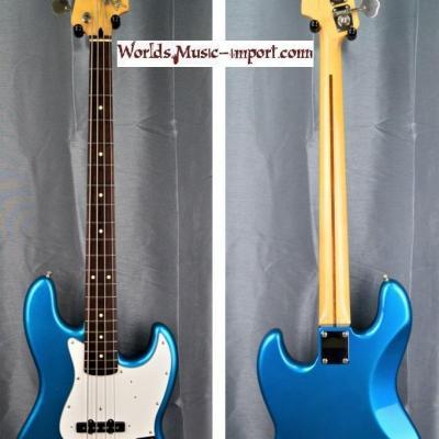VENDUE... FENDER Jazz Bass Standard Lake Placid Blu 2004 'RARE' japon import *OCCASION*