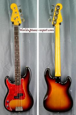 Fender Precision Bass PBD'62 LH 2007 Domestic 'gaucher' 3 Tons Sunburst -Nitro- japon Import *OCCASION*