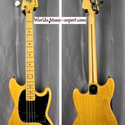VENDUE... FENDER Mustang Bass MB'98 SD ASH VNT 2005 japon RARE import *OCCASION*
