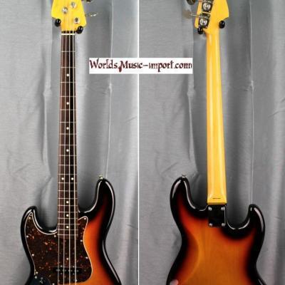 VENDUE... FENDER Jazz Bass '62 LH 3TS 2007 'Gaucher' JAPON import *OCCASION*