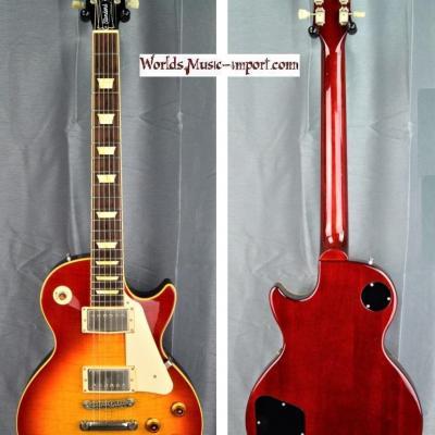 VENDUE... Orville Les Paul Standard LPS-80F 1994 Cherry Sunburst Flame japon import *OCCASION*