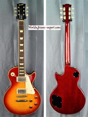 Orville Les Paul Standard LPS-80F 1994 Cherry Sunburst Flame japon import *OCCASION*