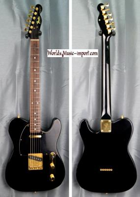 FENDER Telecaster TL-80-55 Matching Head Black/Gold 1988 JAPON Import *OCCASION*
