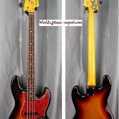 FENDER Jazz Bass JB'62-US 3TS 2001 Japon Import  *OCCASION*