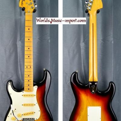 VENDUE... FENDER Stratocaster CST-50 'Collector' LH 1986 ASH Sunburst