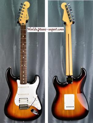 FENDER Stratocaster Standard SSH Sunburst 2010 japon import *OCCASION*