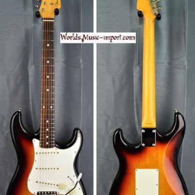 VENDUE... FENDER Stratocaster ST'62 Reissue 1999 3 Tons Sunburst japon import *OCCCASION*