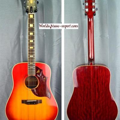 VENDUE... ARIA Folk Hummingbird Custom WH25 CherrySunburst 1971 Japon import *OCCASION*