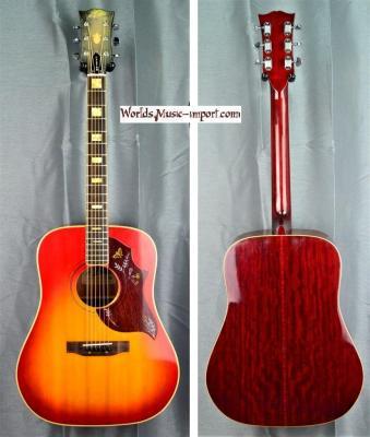 ARIA Folk Hummingbird Custom WH25 CherrySunburst 1971 Japon import *OCCASION*