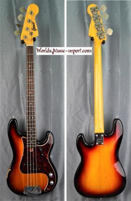 Greco Precision Bass PB' 1974 Sunburst 'RARE pickup' japan import *OCCASION*