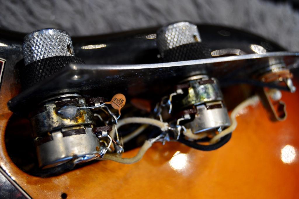 Doubles potards tone volume 1
