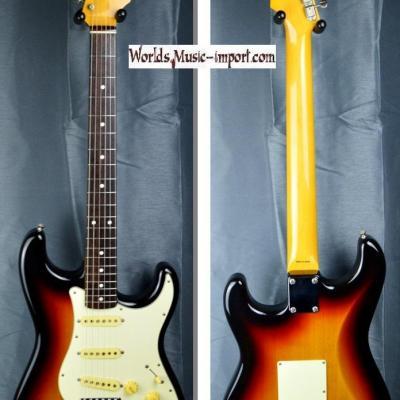 VENDUE... FENDER Stratocaster ST'62-TX 3TS 2010 Japon Import *OCCASION*