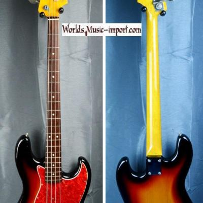 VENDUE... FENDER Jazz Bass JB'62-US 3TS 2000 Japon import *OCCASION*