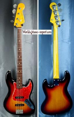 FENDER Jazz Bass JB'62-US 3TS 2000 Japon import *OCCASION*
