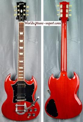 GIBSON SG Standard MAESTRO Bigsby H.Cherry 2000 USA import *OCCASION*