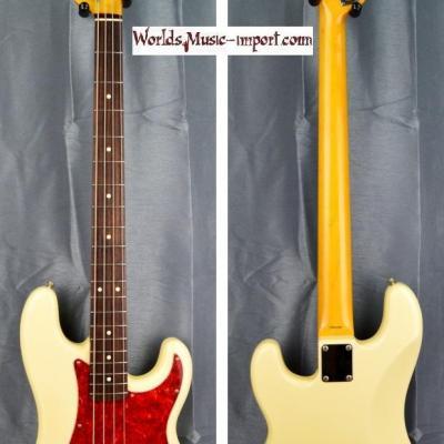 VENDUE... FENDER Precision Bass PB'62 WH 2000 japon import *OCCASION*