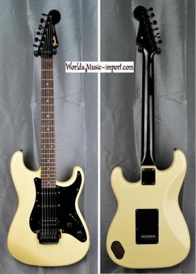 VENDUE... FENDER Stratocaster Floyd MH ST-556 Wh 1985 'Post JV' japon import 'RARE' *OCCASION*