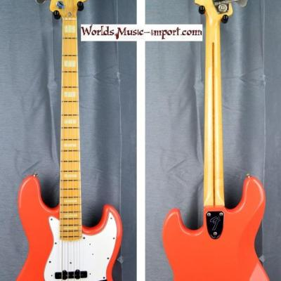 VENDUE... Fender Jazz Bass JB'75-US FRD  1996 FIesta Red