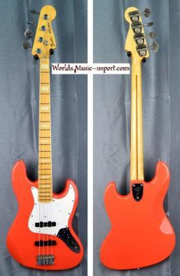 Fender Jazz Bass JB'75-US FRD  1996 FIesta Red