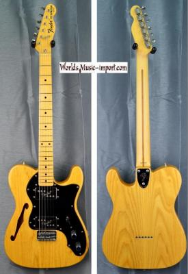 VENDUE... FENDER Telecaster Thinline HH TL'72 Ash 2010 japan import *OCCASION*